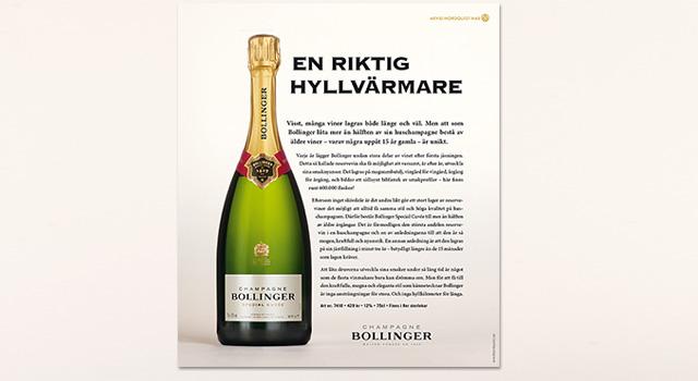 Bollinger – Annonser