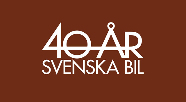 Svenska Bil – Jubileumslogotype