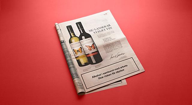 Spendrups Vin – Spring Village, annonser