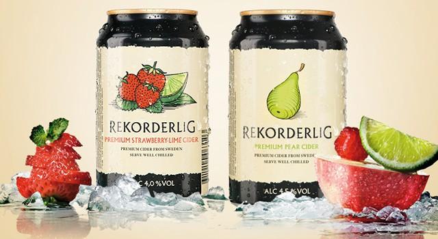 Åbro – Förpackningsdesign och produktutveckling – Rekorderlig Cider